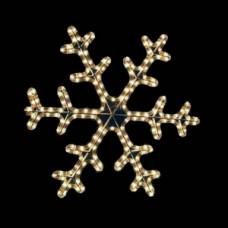 Мотив снежинка dsf-013 белая