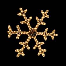 Мотив снежинка dsf-013 желтая