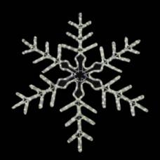 Мотив снежинка dsf-017 белая, динамика