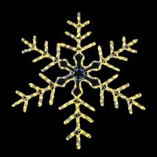 Мотив снежинка dsf-017 желтая