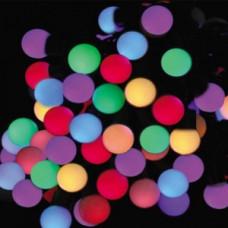 Светодиодная гирлянда шарики, мульти.