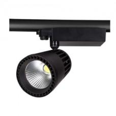 Светодиодный трековый светильник, TR2076 LED 40W, 2700K, черный, Svetlon