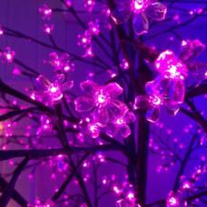 Светодиодное дерево Сакура, розовый цвет.