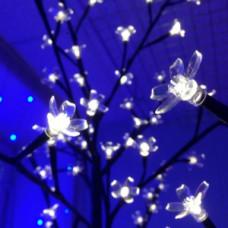 Светодиодное дерево Сакура, теплый белый цвет.