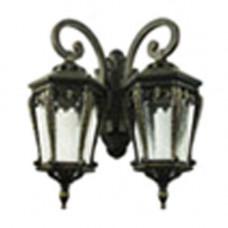 Уличный светильник Генуя, G1592S с двумя плафонами , Svetlon.
