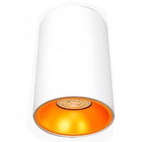 Светильник тубус, накладной круглый WC1301 белый, Svetlon