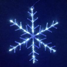 """Мотив снежинка"""" LED Snowflake  Steady, белая."""""""
