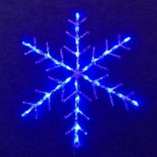 "Мотив снежинка"" LED Snowflake  Steady, синяя."""