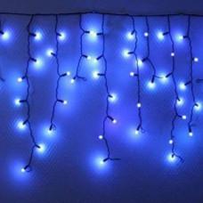 Светодиодная бахрома, синяя, 180 led, чш.