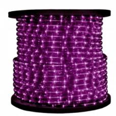 Светодиодный дюралайт 3-х жильн. чейзинг, фиолетовый.