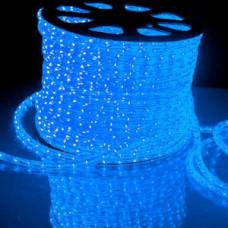 Светодиодный дюралайт 3-х жильн. чейзинг, синий.