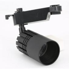 Светодиодный трековый светильник, TR1112 LED 12W, 4200K, черный, Svetlon