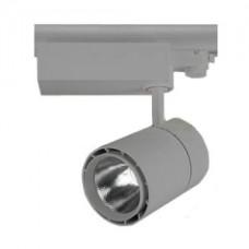 Светодиодный трековый светильник, TR1220 LED 20W, 4200K, серый, Svetlon