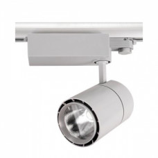 Светодиодный трековый светильник, TR1430 LED 30W, 2700K, серый, Svetlon