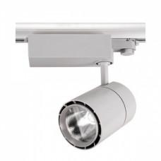 Светодиодный трековый светильник, TR1430 LED 30W, 4200K, серый, Svetlon