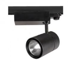 Светодиодный трековый светильник, TR1440 LED 40W, 4200K, черный, Svetlon