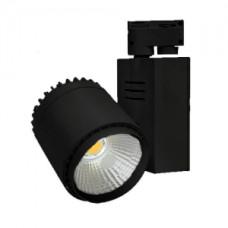 Светодиодный трековый светильник, TR2070 LED 35W, 4200K, черный, Svetlon