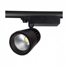 Светодиодный трековый светильник, TR2076 LED 40W, 4200K, черный, Svetlon