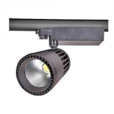Светодиодный трековый светильник, TR2076 LED 40W, 4200K, серый, Svetlon