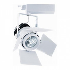 Светодиодный трековый светильник, TR2096 LED 30W, 2700K, бело-черный, Svetlon