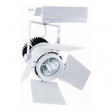 Светодиодный трековый светильник, TR2096 LED 30W, 4200K, бело-черный, Svetlon