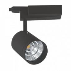 Светодиодный трековый светильник, TR2097 LED 30W, 2700K, черный, Svetlon