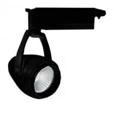 Светодиодный трековый светильник, TR2110 LED 20W, 4200K, черный, Svetlon