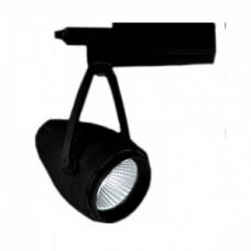 Светодиодный трековый светильник, TR2111 LED 30W, 4200K, черный, Svetlon