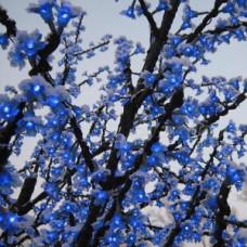 Светодиодное дерево Сакура, синий цвет.