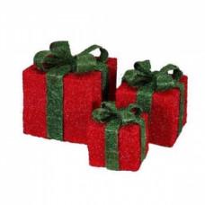 Светящиеся кубы подарок, ткань.