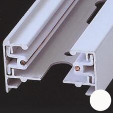Трек 2TRA 1-фазный (2-х жильный), белый, 1м, Svetlon