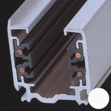 Трек 4TRA 3-фазный (4-х жильный), белый, 1м, квадратный, Svetlon