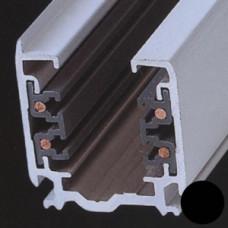 Трек 4TRA 3-фазный (4-х жильный), черный, 1м, квадратный, Svetlon