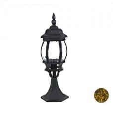 Уличный светильник Прага, 8044, черно-золотистый, Svetlon.