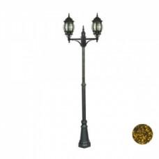 Уличный светильник Прага, 9052, черно-золотистый, Svetlon.