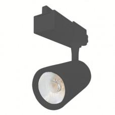 Светодиодный трековый светильник, TR1228 LED 28W, 2700K, черный, Svetlon